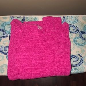 Lilly Pulitzer size M pink sweater